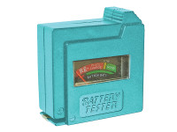 Faithfull FAIDETBAT Battery Tester for AA AAA C D & 9V