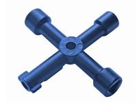 Faithfull FAISUKEY 4-Way Services Utility Meter Key