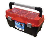 Faithfull FAITB21HD Cantilever Tote Tray & Organiser Lid Toolbox 53cm (21in)