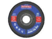 Faithfull FAIFD115M Flap Disc 115mm Medium