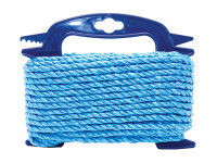 Faithfull FAIRB1010H Blue Poly Rope 10mm x 10m