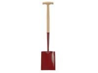 Faithfull FAISS000T Solid Socket Shovel Square No.000 T-Handle