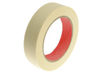 Faithfull FAITAPELTM25 Low Tack Masking Tape 25mm x 50m