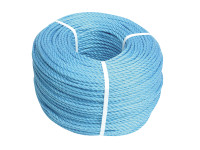 Faithfull FAIRB3060 Blue Poly Rope 6mm x 30m