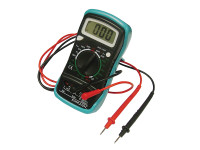 Faithfull FAIDETMULTI Multimeter LCD Display