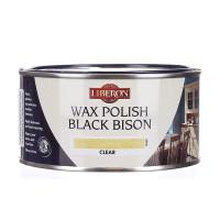 Liberon LIBBBPWCL500 Wax Polish Black Bison Clear 500ml