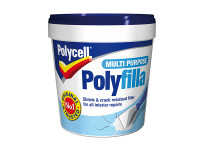 Polycell PLCMPPR1KGS Multi Purpose Polyfilla Ready Mixed 1kg
