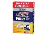 Ronseal RSLMPLF500VP Smooth Finish Multi Purpose Wall Powder Filler 500g + 50%