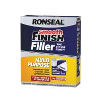 Ronseal RSLMPPF1KG Smooth Finish Multi Purpose Wall Powder Filler 1kg   Toolden