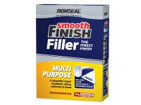 Ronseal RSLMPPF2KG Smooth Finish Multi Purpose Wall Powder Filler 2kg