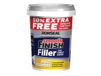 Ronseal RSLMPRMF6VP Smooth Finish Multi Purpose Wall Filler Ready Mixed 600g +50%