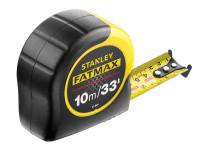 Stanley Tools STA033805 FatMax BladeArmor Tape 10m/33ft (Width 32mm)