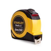 Stanley Tools STA036807 DualLock™ Tylon™ Pocket Tape 8m/26ft (Width 25mm)