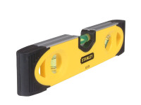 Stanley Tools STA043511 Magnetic Shockproof Torpedo Level 230mm