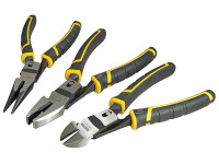 Stanley Tools STA072415 FatMax Compound Action Pliers Set 3 Piece