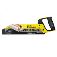 Stanley Tools STA217206 FatMax PVC & Plastic Saw 300mm (12in) 11tpi (STA217206)
