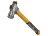 Roughneck ROU61474 Ball Pein Hammer Fibreglass Handle 454g (16oz) | Toolden