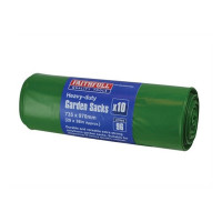 Faithfull FAIBAGGS10HD Heavy-Duty Strong Garden Sacks (Roll 10)