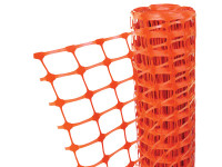Faithfull FAIBARRIER Orange Barrier Fencing 1m x 50m