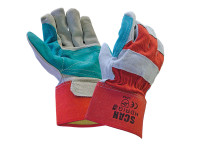 Scan SCAGLOHDRIG Heavy-Duty Rigger Gloves - Large