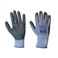 Scan SCAGLONITMF Breathable Microfoam Nitrile Gloves - L (Size 9)