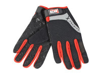 Scan SCAGLOTOUCH Work Gloves with Touch Screen Function - L (Size 9)
