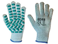 Scan SCAGLOVRL Vibration Resistant Latex Foam Gloves - L (Size 9)