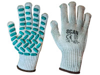 Scan SCAGLOVRXL Vibration Resistant Latex Foam Gloves - XL (Size 10)