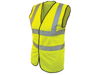 Scan SCAWWHVWC9 Hi-Vis Yellow Waistcoat - Child 7-9 (32in)