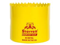 Starrett STRHS83AX FCH0314 Fast Cut Bi-Metal Holesaw 83mm   Toolden