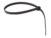 Cable Tie Black 8.0 x 450mm (Bag 100) | Toolden