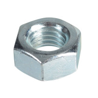 ForgeFix FORFPNUT12 Hexagonal Nuts & Washers ZP M12 Forge Pack 6