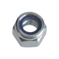 ForgeFix FORFPNYL6 Nyloc Nuts & Washers Zinc Plated M6 Forge Pack 25