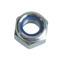 ForgeFix FORFPNYL8 Nyloc Nuts & Washers Zinc Plated M8 Forge Pack 12
