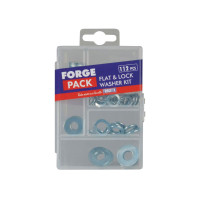 ForgeFix  Flat Washer Kit ForgePack 112 Piece | Toolden