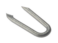 Netting Staple Galvanised 25mm Bag Weight 500g | Toolden