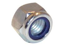 Hexagon Nut & Nylon Insert ZP M6 Bag 100 | Toolden