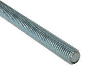 Threaded Rods Zinc Plated M6 x 1m Single | Toolden