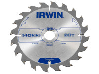 Construction Circular Saw Blade 140 x 20mm x 20T ATB | Toolden