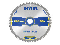Construction Mitre Circular Saw Blade 250 x 30mm x 80T ATB/Neg | Toolden