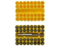 BlueSpot Tools B/S14151 Security Bit Set 33 Piece   Toolden