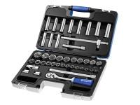 Britool Expert BRIE032908B Socket & Accessory Set of 42 Metric 1/2in Drive | Toolden