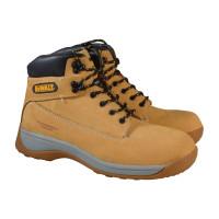 DeWalt DEWAPPRENT8 Apprentice Hiker Wheat Nubuck Boots UK 8 Euro 42  | Toolden