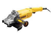 DeWalt DEWDWE492KL DWE492K Angle Grinder 230mm in Kitbox 2200W 110V | Toolden