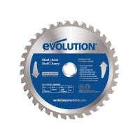 Evolution EVOBLADE 180mm x 20mm x 36T Steel Cutting Saw Blade | Toolden