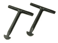 Monument MON1010 1010L Manhole Keys (Pack of 2) 125mm (5in) | Toolden