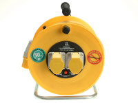 Masterplug MSTLVCT50162 Cable Reel 110V 16A Thermal Cut-Out 50m | Toolden