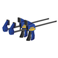 IRWIN Quick-Grip Q/G54122QCN Mini Bar Clamp Twin Pack 300mm (12in)  | Toolden