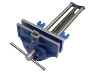 IRWIN Record REC53ED 53ED Woodworking Vice 270mm (10.1/2in) with Quick Release & Dog | Toolden