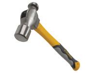 Roughneck ROU61476 Ball Pein Hammer Fibreglass Handle 680g (24oz) | Toolden